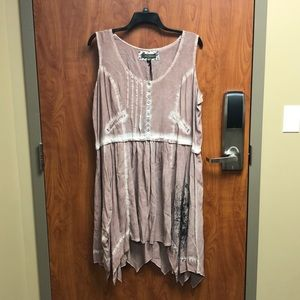 Pink Tunic/Dress 3X NWT